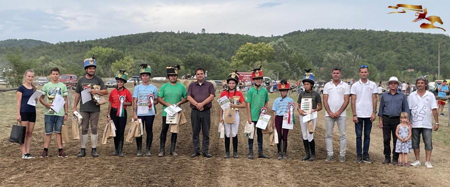 Ezek a lovasok vágtáztak a győzelembe Gyenesdiáson